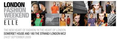 london fashion weekend logo
