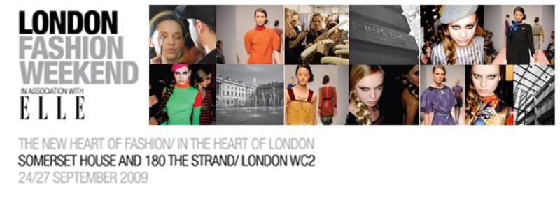 london fashion weekend logo