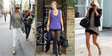Kate Moss in LNA in 2009