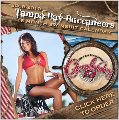 tampa bay buccaneers cheerleader calendar