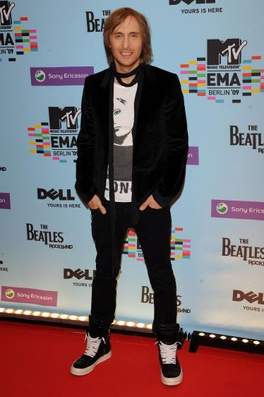 david guetta EMA MTV 09