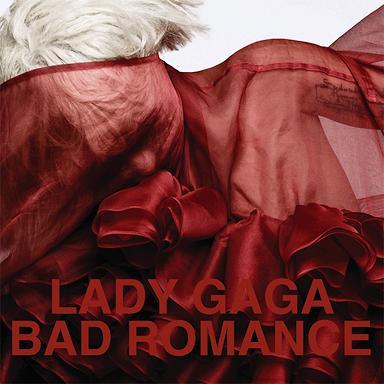 Lady Gaga Bad Romance album cover