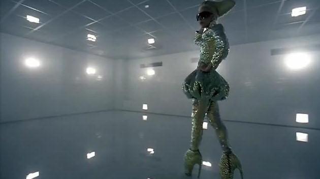 Lady Gaga Bad Romance Alexander McQueen ss10
