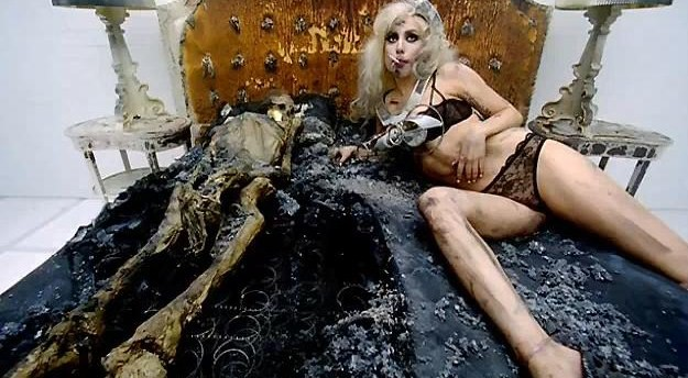 Lady Gaga Bad Romance spark cone bra