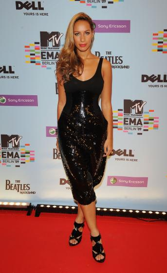 leona lewis MTV EMA red carpet