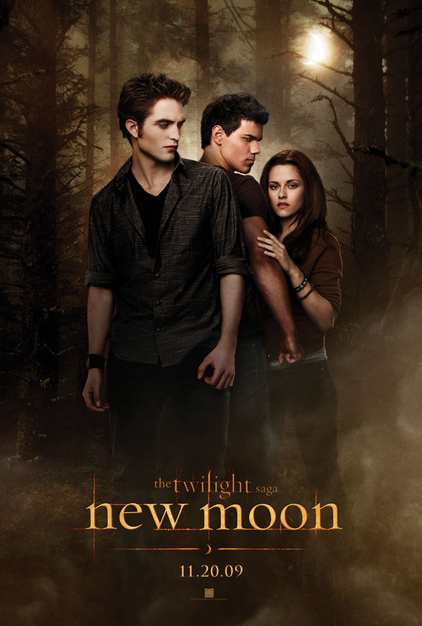 new moon twilight fan event london poster