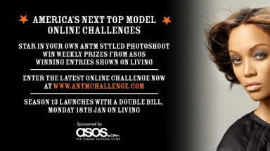 ANTM Americas next top model Online Challenges