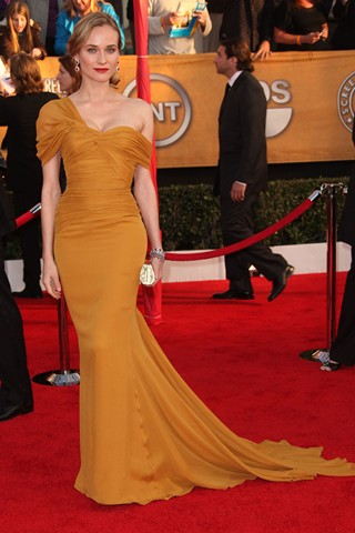 Diane Kruger in Jason Wu at the SAG Awards 2010