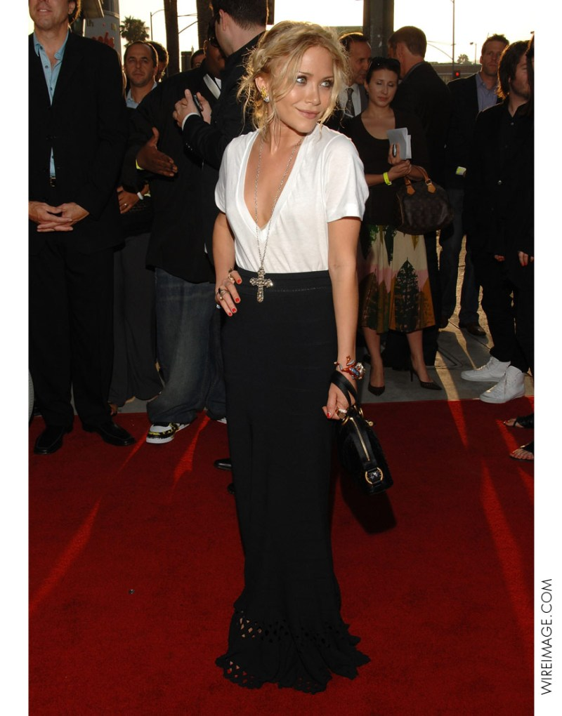 Mary-Kate Olsen in LNA tee on the red carpet - £45