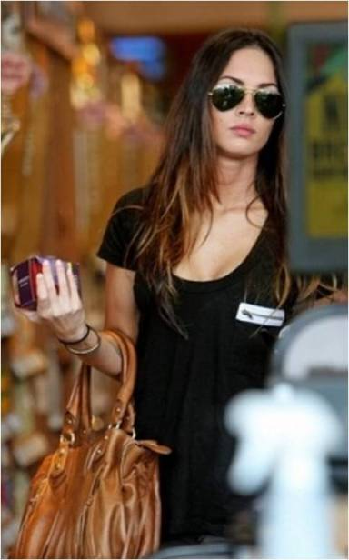 Megan Fox in LNA tee - £55