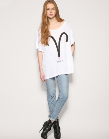 Wildfox Aries Daredevil T Shirt