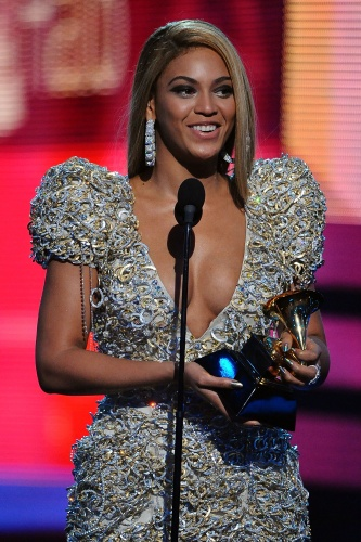 Beyonce at The Grammy Awards 2010