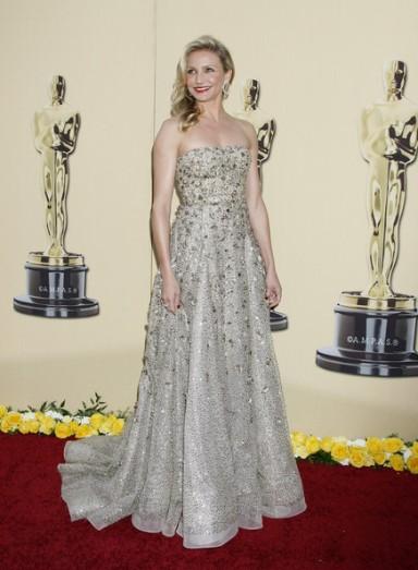 2010 Oscars Cameron Diaz in Oscar de la Renta