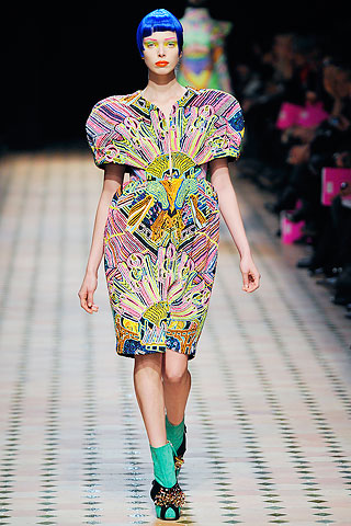 Paris Fashion Week Manish Arora aw10
