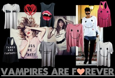 wildfox limited edition vampire collection