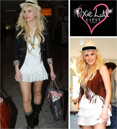 Pixie Lott launches range for Lipsy Pixie Festival and Pixie Party
