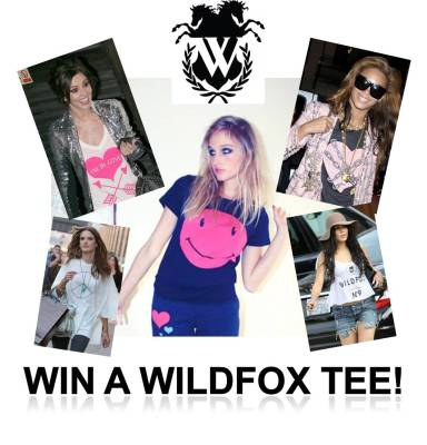 win a wildfox tee