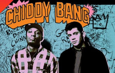 Chiddy Bang flyer get to the front