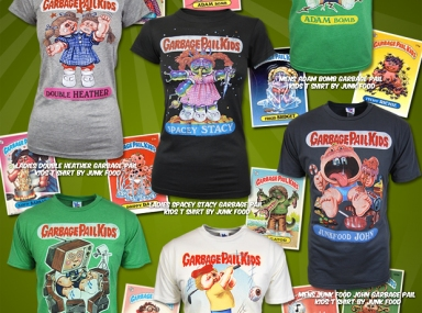 b9eeef24 Garbage Pail Kids take over Junk Food! May 19, 2010 by Self Service UK.  Thanks to Honcho-sfx ...