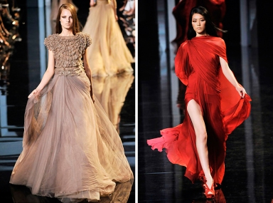 Couture Fashion Week A/W 2010: Elie Saab
