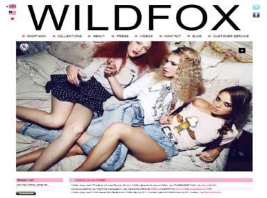 WILDFOX homepage