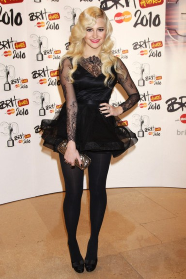 steal her style Pixie Lott at the Brits