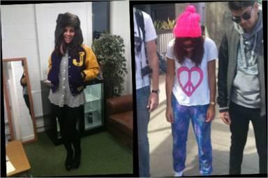 Marina and the Diamonds Vogue Today I'm Wearing LNA and Wildfox