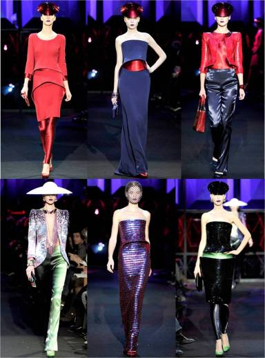 armani prive paris couture fashion week spring 2011