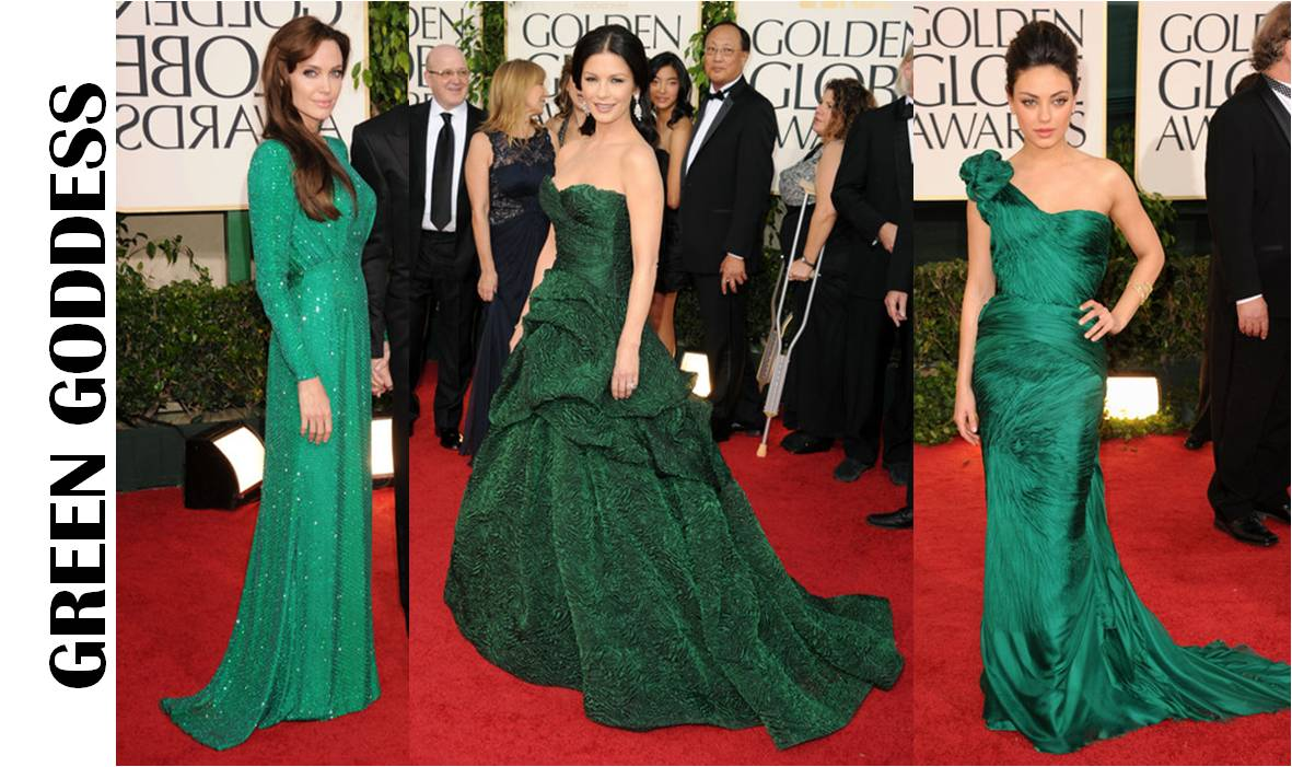2011 golden globes catherine zeta jones