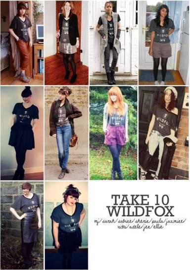 take 10 project wildfox