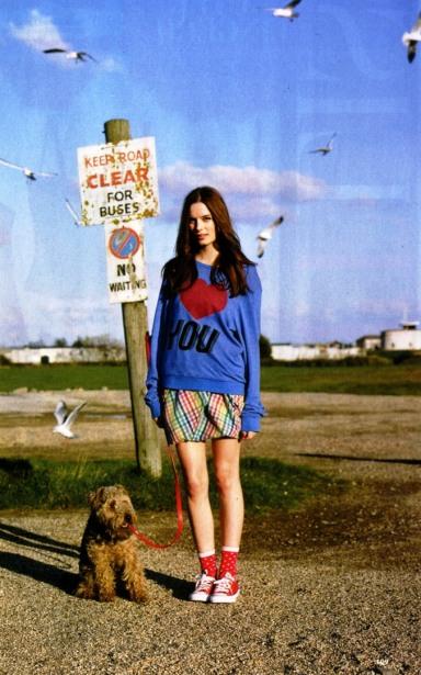 Wildfox Cosmopolitan Feb 11 love sweater