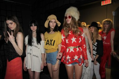 wildfox fall 2011 new york fashion week presentation