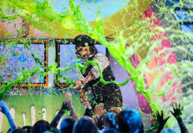 Nickelodeon+24th+Annual+Kids+Choice+Awards Johnny Depp