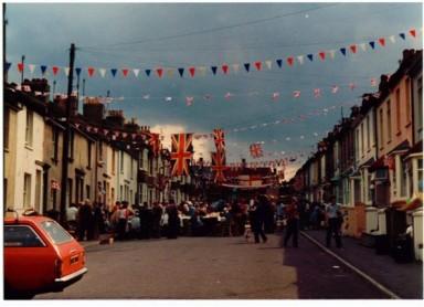 Royal Wedding Street Party bunting