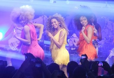 Beyonce secret gig London single ladies