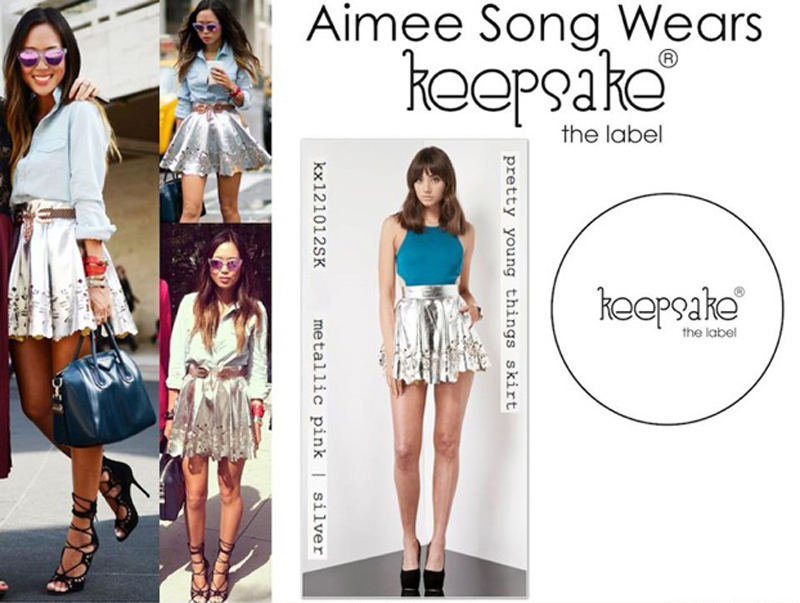 AIMEE SONG PRETTY YOUNG THINGS SKIRT