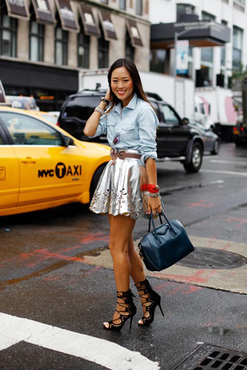 Aimee Song in Keepsake NYFW 09.12