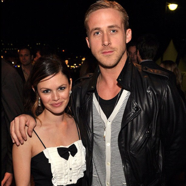 Ryan Gosling in a custom made LNA jacket in January 2011