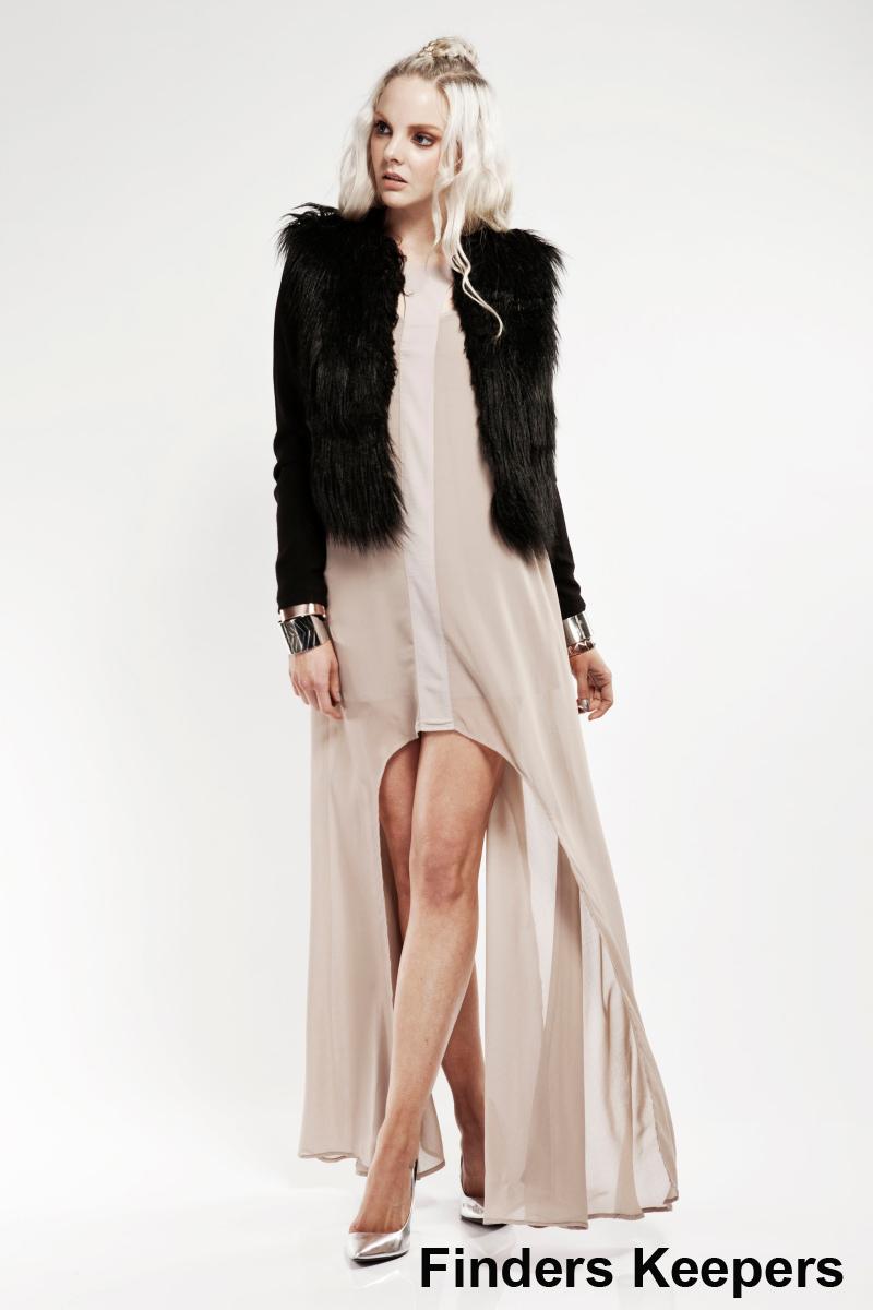 finders keepers fur waistcoat