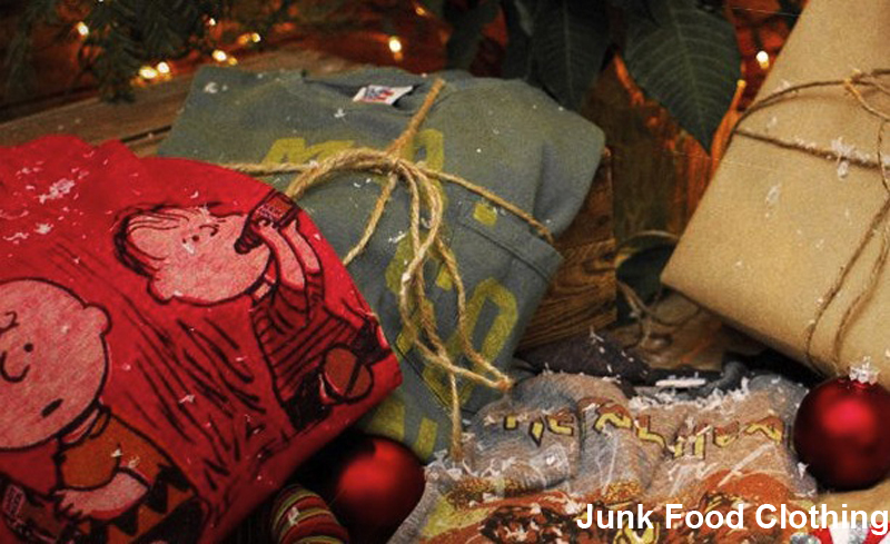 Junk Food Clothing christmas gift
