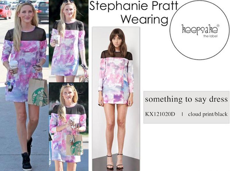 Stephanie Pratt from the Hills