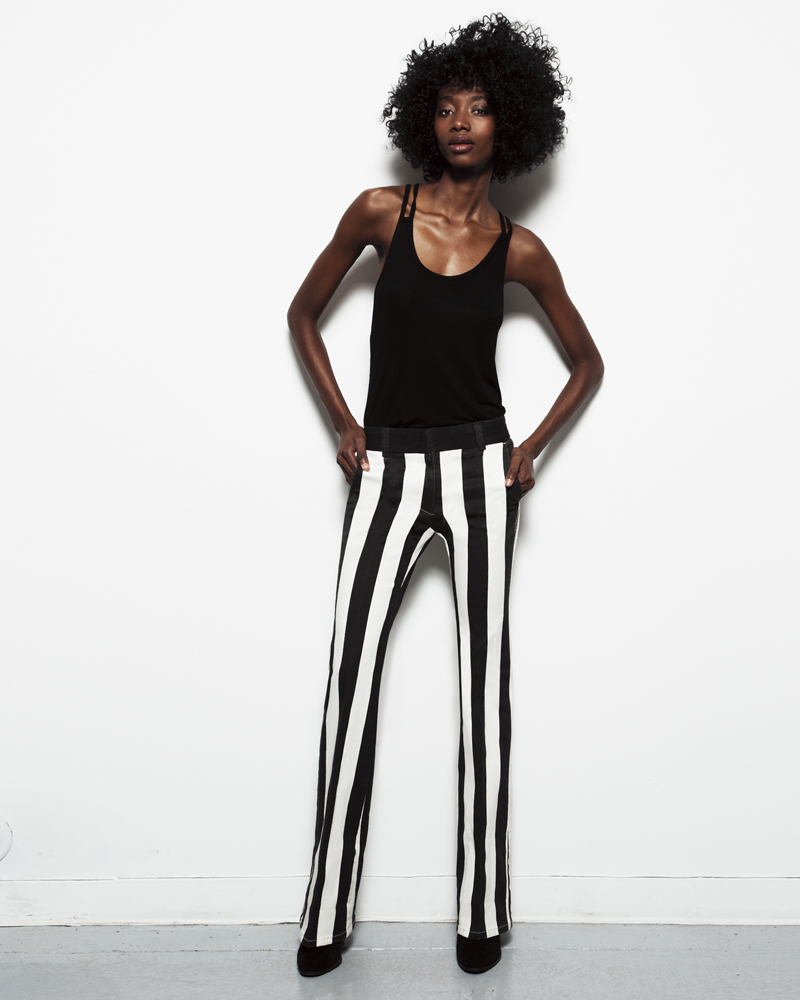 The Carine Hepburn Stripe Genetic