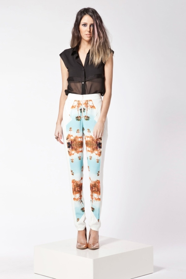 Finders Keepers Burning Ground Pants Miami NIghts