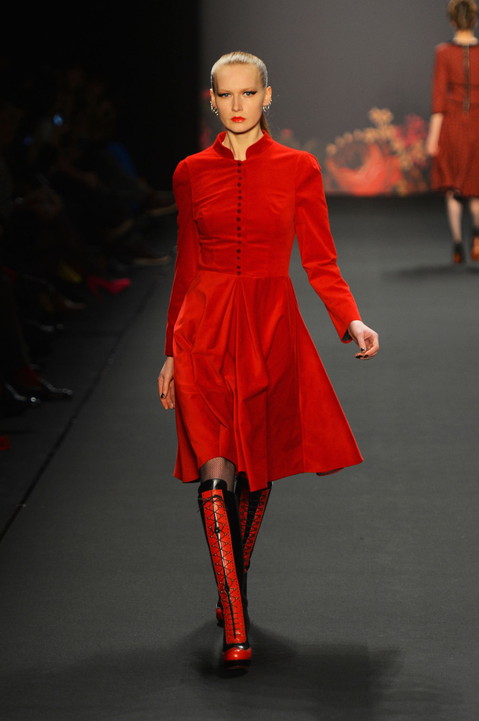 Lena Hoschek From Russia With Love Autumn Winter 2013 / 2014 Berlin Fashion Week 2