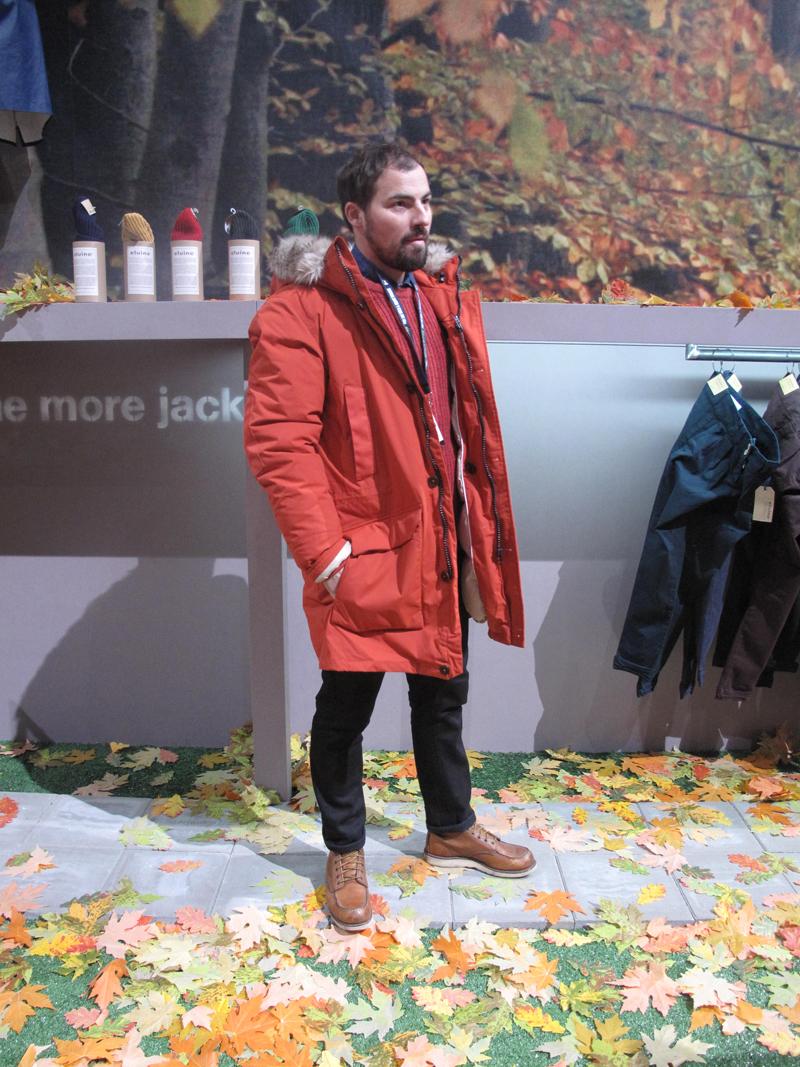 elvine bread & butter jacket Corby Orange