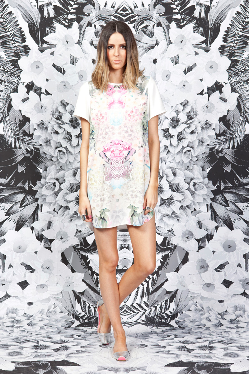Finders Keepers Secret Garden T-Shirt Dress