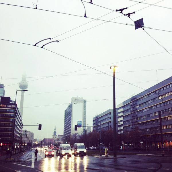 Berlin in Winter — Stil in Berlin