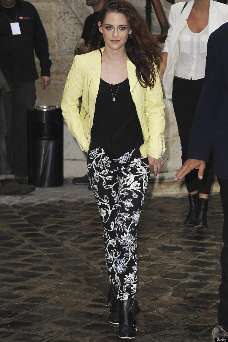 Balmain: Arrivals - Paris Fashion Week Womenswear Spring / Summer 2013