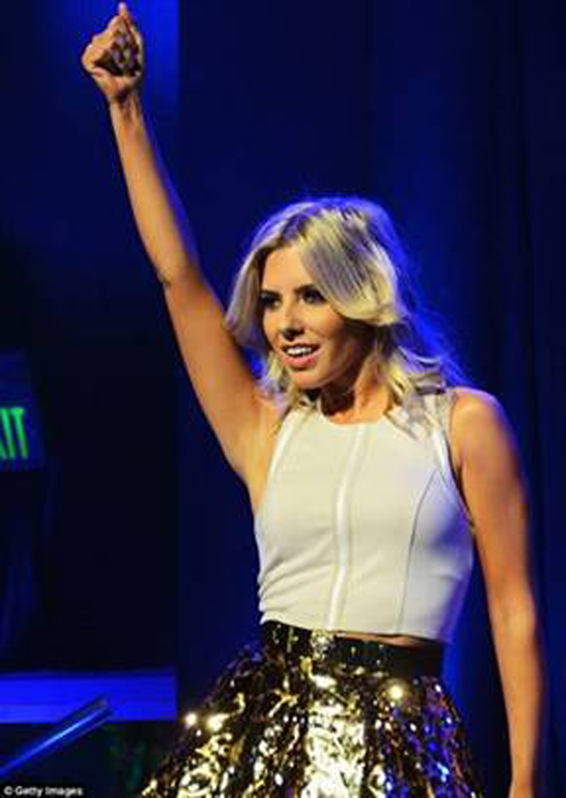Mollie King the saturdays finders keepers