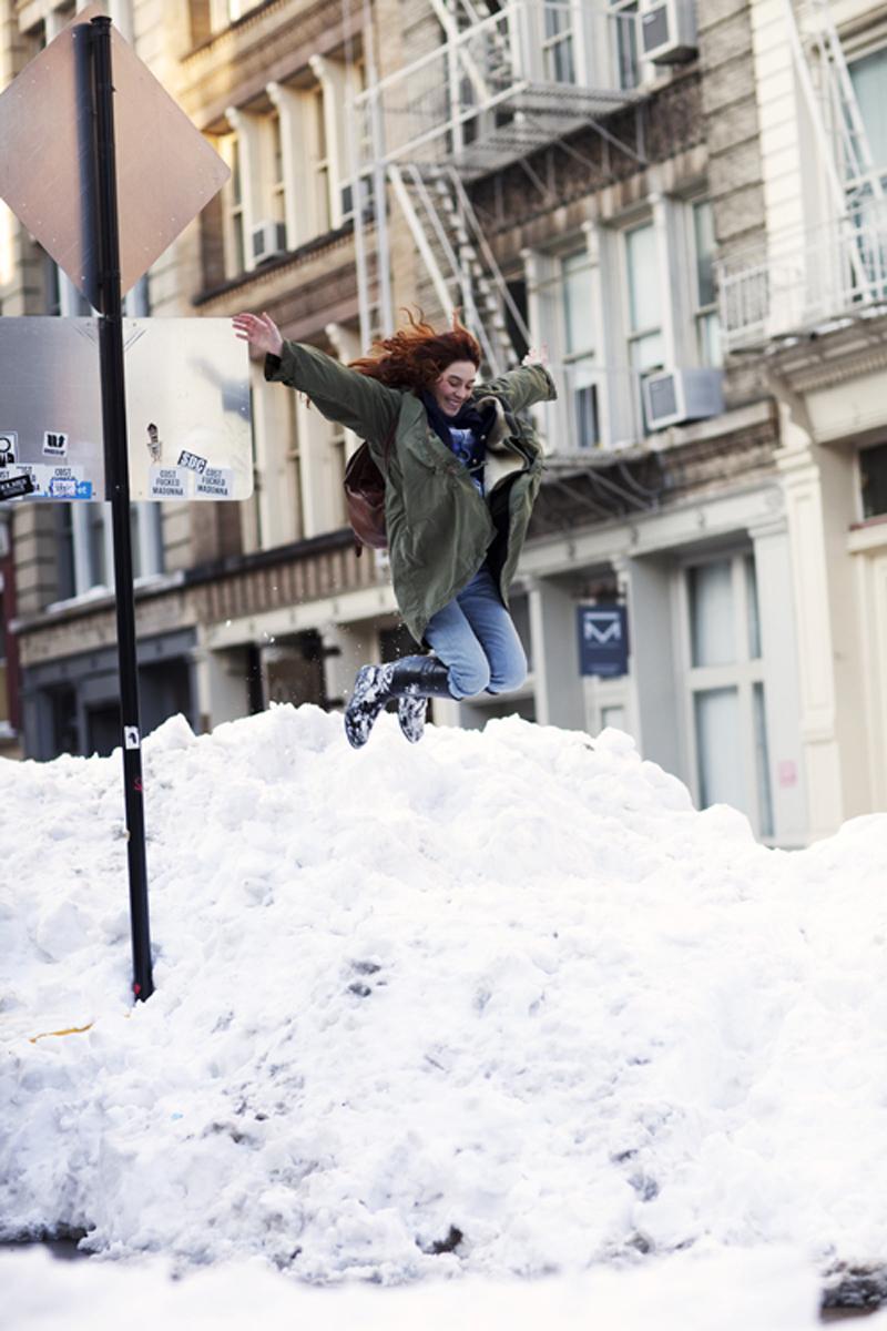 Sartorialist Snow